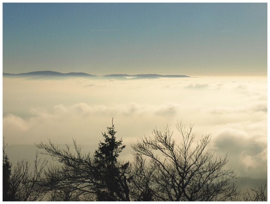 Inversion und Hochnebel