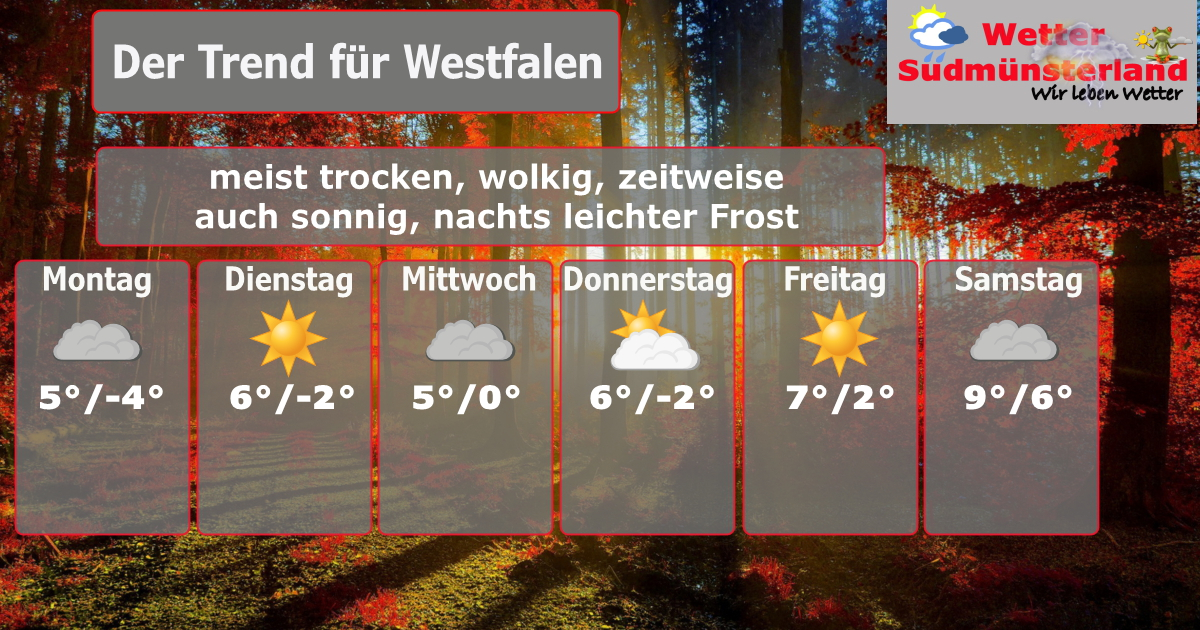 Wettervorhersage Für Die Woche