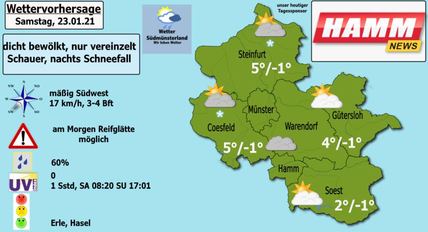 Dicht bewölkt, meist trocken, abends neuer Schnee – Wettervorhersage 23.01.2021